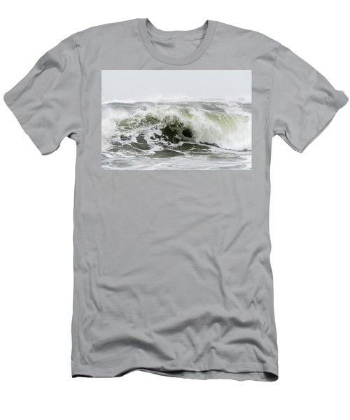 Storm Surf Spray Men's T-Shirt (Athletic Fit)