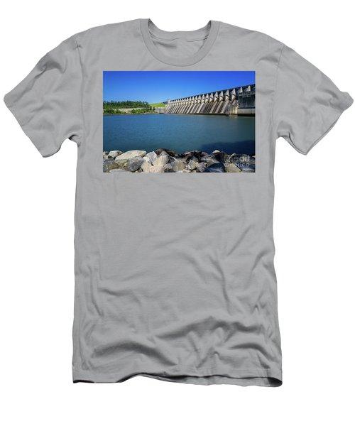 Strom Thurmond Dam - Clarks Hill Lake Ga Men's T-Shirt (Athletic Fit)