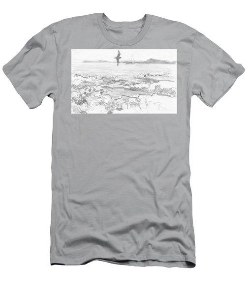 Subantarctic Island Men's T-Shirt (Athletic Fit)