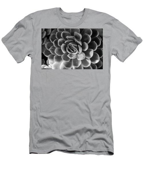 Succulent - Bw - 2 Men's T-Shirt (Athletic Fit)