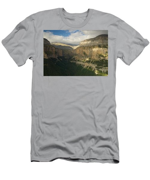 Men's T-Shirt (Athletic Fit) featuring the photograph Summer Magic In The Ordesa Valley by Stephen Taylor