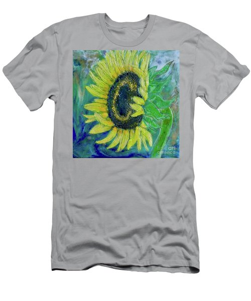 Sunflower Smiles Men's T-Shirt (Athletic Fit)