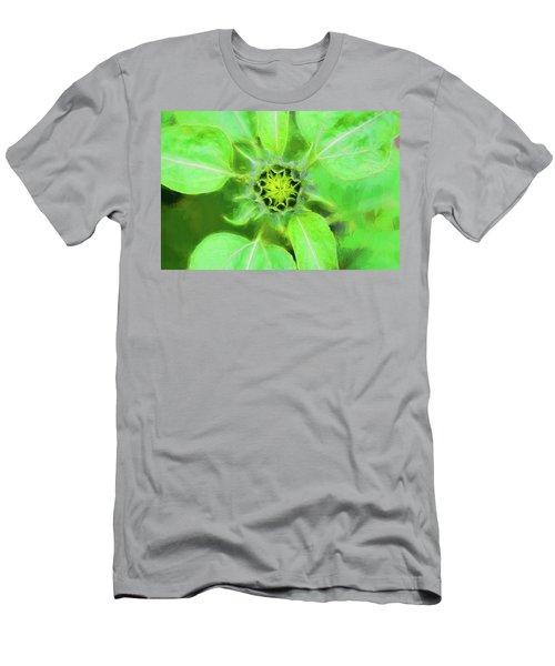 Sunflowers Helianthus 014 Men's T-Shirt (Athletic Fit)