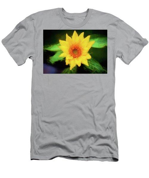 Sunflowers  Helianthus 025  Men's T-Shirt (Athletic Fit)