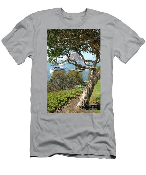 Sunny Day At Morro Bay Men's T-Shirt (Athletic Fit)