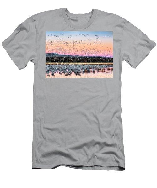 Sunrise At The Crane Pool Men's T-Shirt (Athletic Fit)