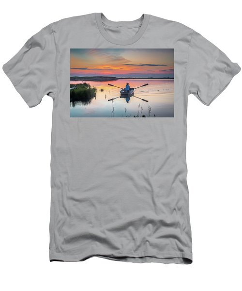 Sunset  Crossing Men's T-Shirt (Athletic Fit)