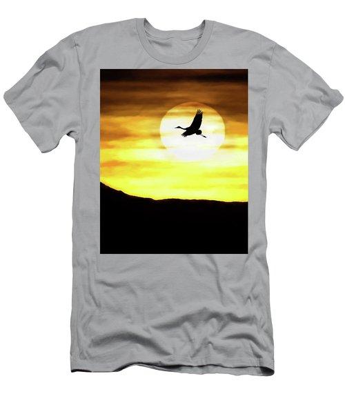 Sunset Flyway Men's T-Shirt (Athletic Fit)