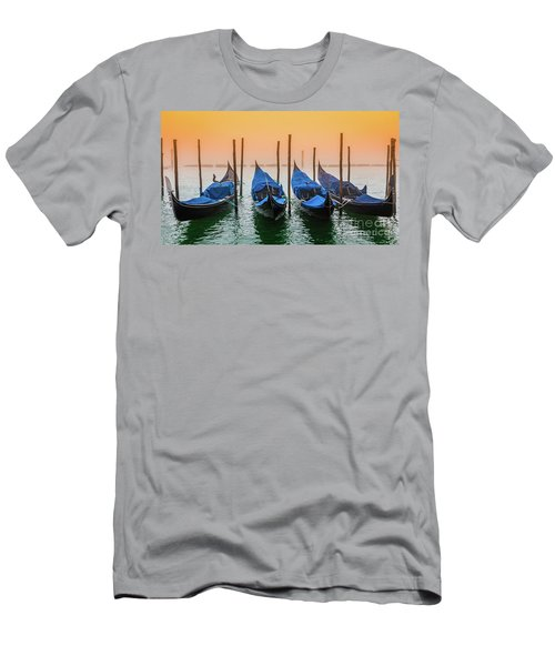 Sunset In Venice Men's T-Shirt (Athletic Fit)