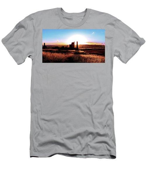Sunset. Magpie Mine. Men's T-Shirt (Athletic Fit)