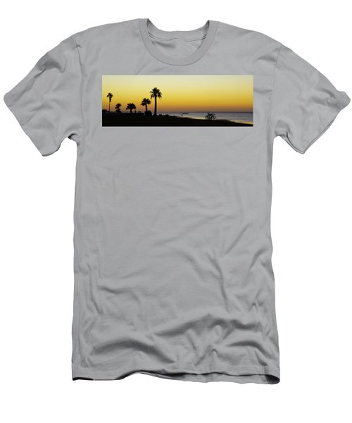 Sunset On Copano Bay, Texas Men's T-Shirt (Athletic Fit)