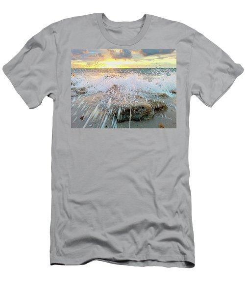 Surf Splash Men's T-Shirt (Athletic Fit)