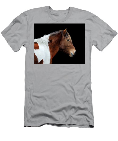 Susi Sole Portrait On Assateague Island Men's T-Shirt (Athletic Fit)