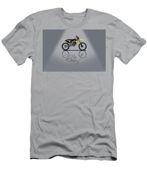 Suzuki Rm-z 450 Grey Spotlight Men's T-Shirt (Athletic Fit)