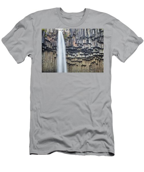 Svartifoss Portrait Iceland Men's T-Shirt (Athletic Fit)