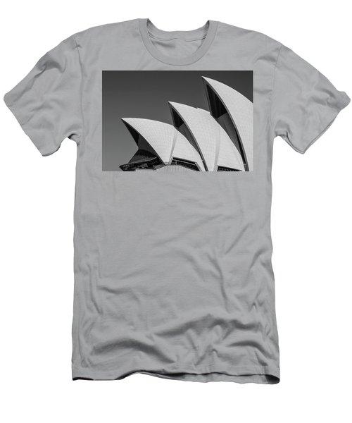 Sydney_opera Men's T-Shirt (Athletic Fit)