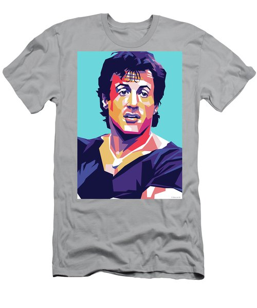 Sylvester Stallone Men's T-Shirt (Athletic Fit)