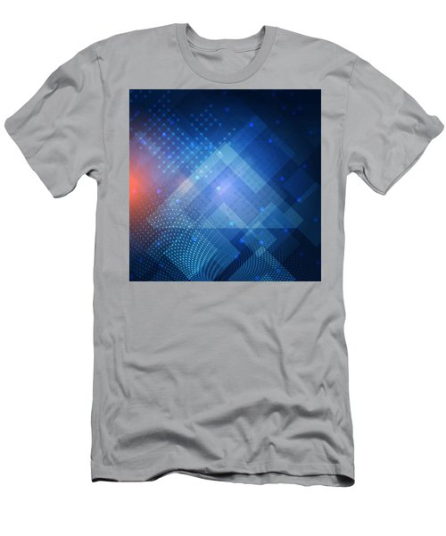 Techno 1 Men's T-Shirt (Athletic Fit)