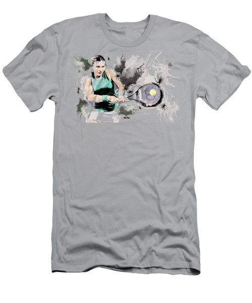 Tennis Anyone? Men's T-Shirt (Athletic Fit)