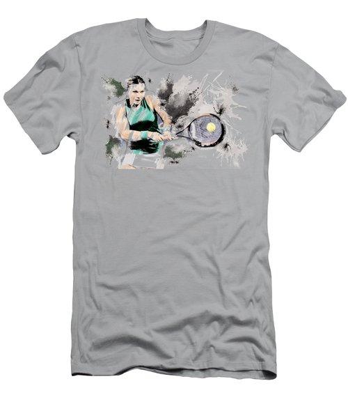 Tennis Anyone? Men's T-Shirt (Athletic Fit)