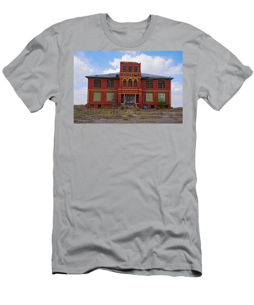 Texas Ghost Town School  Men's T-Shirt (Athletic Fit)