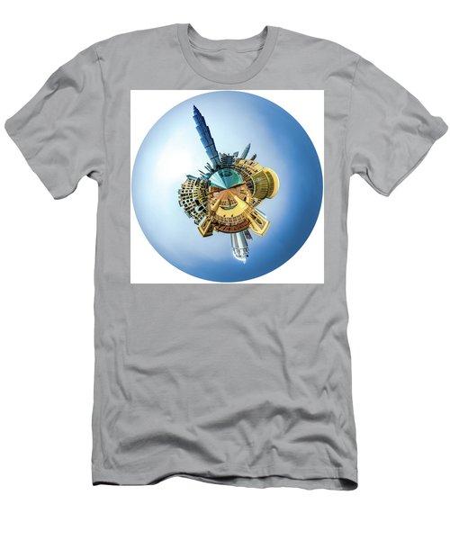 The Amazing Burj Khalifa Men's T-Shirt (Athletic Fit)