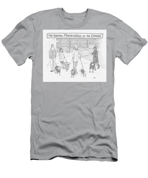 The Annual Mortification Of The Canines Men's T-Shirt (Athletic Fit)