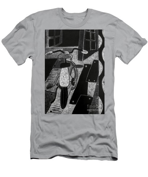The Bicycle. Men's T-Shirt (Athletic Fit)