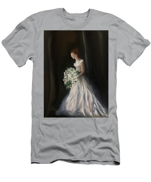 Men's T-Shirt (Athletic Fit) featuring the painting The Big Day by Fe Jones