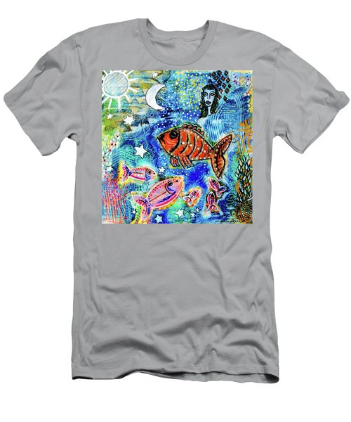 The Day The Stars Fell Into The Ocean Men's T-Shirt (Athletic Fit)