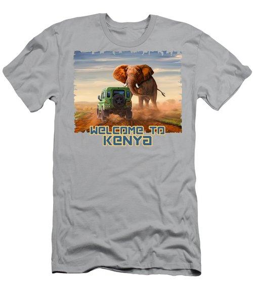 The Encounter Men's T-Shirt (Athletic Fit)