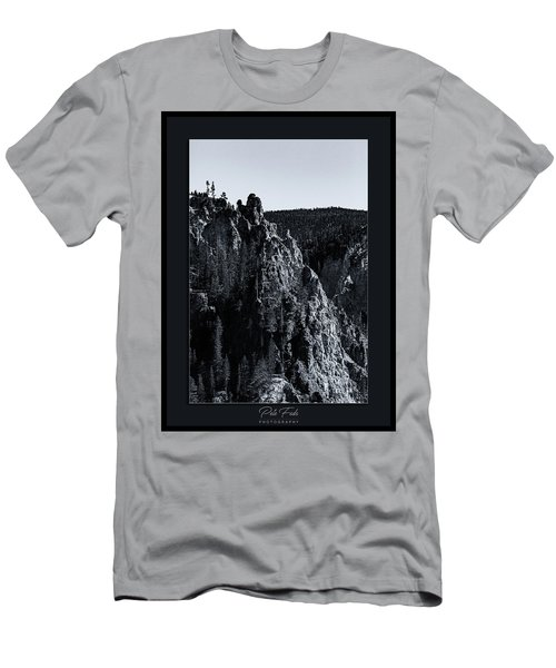Men's T-Shirt (Athletic Fit) featuring the photograph The Grand Canyon Of The Yellowstone by Pete Federico