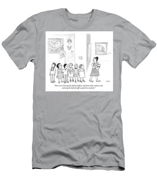 The Hall Of Stuff We Stole From Other Cultures Men's T-Shirt (Athletic Fit)