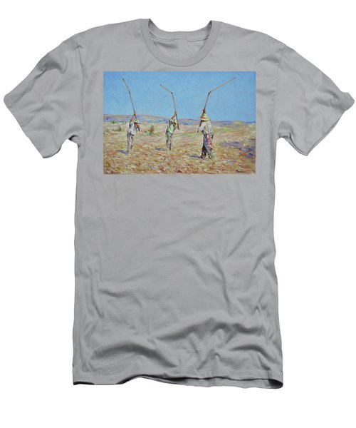 The Haymakers - Pierre Van Dijk 70x90cm Oil Men's T-Shirt (Athletic Fit)
