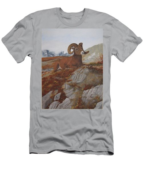 Men's T-Shirt (Athletic Fit) featuring the painting The High Throne by Tammy Taylor