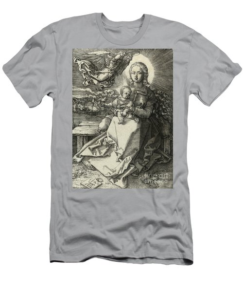 The Madonna Crowned By An Angel, 1520  Men's T-Shirt (Athletic Fit)