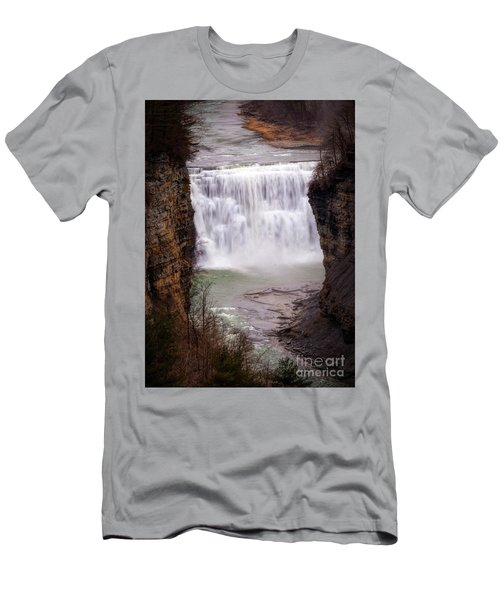 The Middle Falls Men's T-Shirt (Athletic Fit)