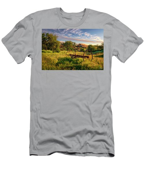 The Old Hay Rake Men's T-Shirt (Athletic Fit)