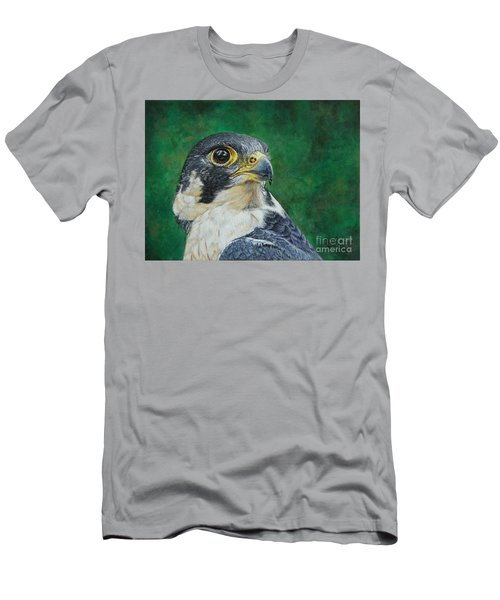 The Proud Peregrine....fastest Creature On The Planet Men's T-Shirt (Athletic Fit)