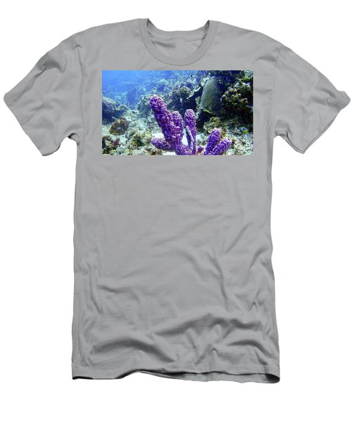 The Purple Sponge Men's T-Shirt (Athletic Fit)
