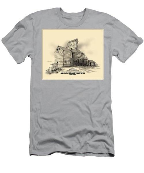 The Ross Elevator Version 2 Men's T-Shirt (Athletic Fit)