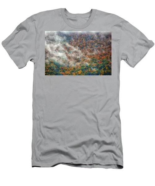 Men's T-Shirt (Athletic Fit) featuring the photograph The Shoulder Of Greylock by Raymond Salani III