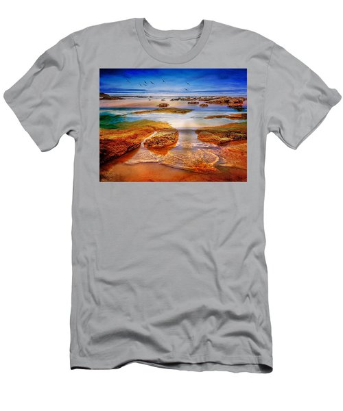 The Silent Morning Tide Men's T-Shirt (Athletic Fit)