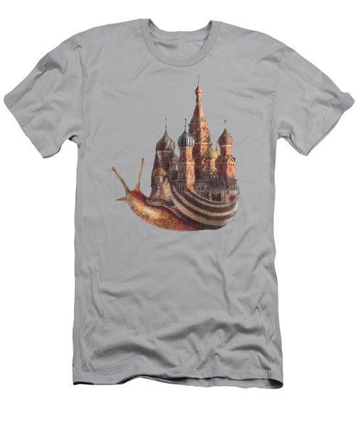 The Snail's Daydream Men's T-Shirt (Athletic Fit)
