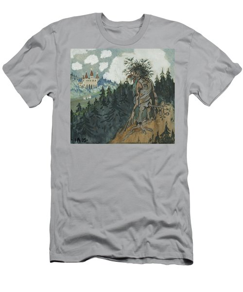 Men's T-Shirt (Athletic Fit) featuring the photograph The Story Of The Six Princesses by Ivar Arosenius