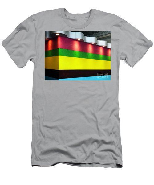 Men's T-Shirt (Athletic Fit) featuring the photograph The Waiting Room by Rick Locke