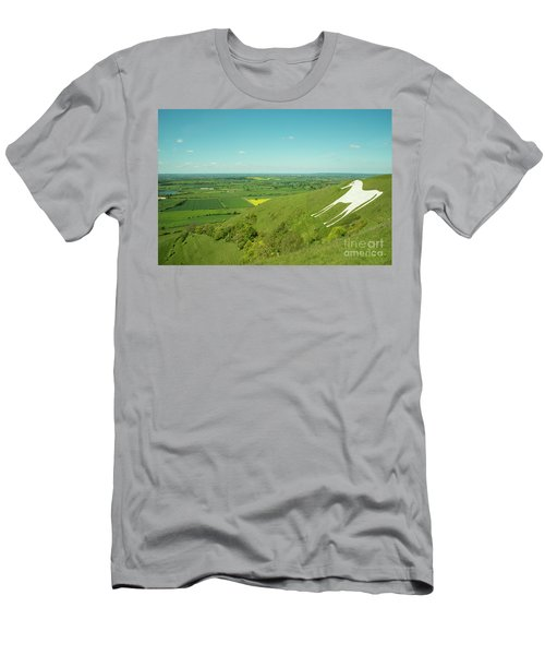 The White Horse Of Westbury Men's T-Shirt (Athletic Fit)