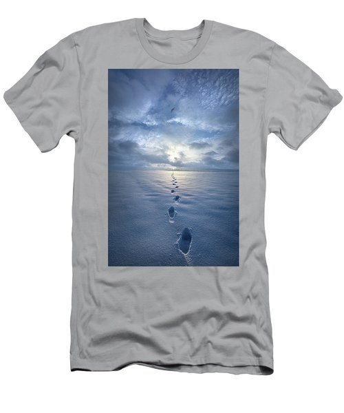Men's T-Shirt (Athletic Fit) featuring the photograph This Is When I Carried You by Phil Koch