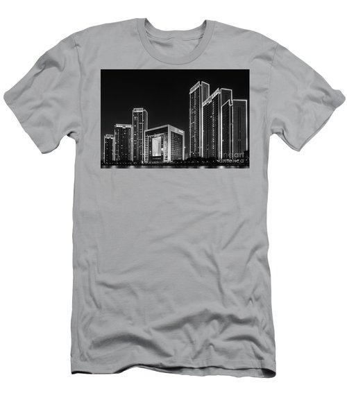 Tianjin Skyline Men's T-Shirt (Athletic Fit)