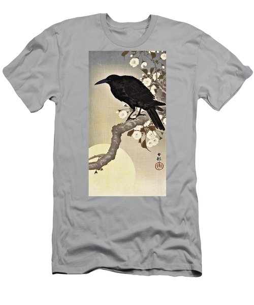 Top Quality Art - Moon And Crow Men's T-Shirt (Athletic Fit)